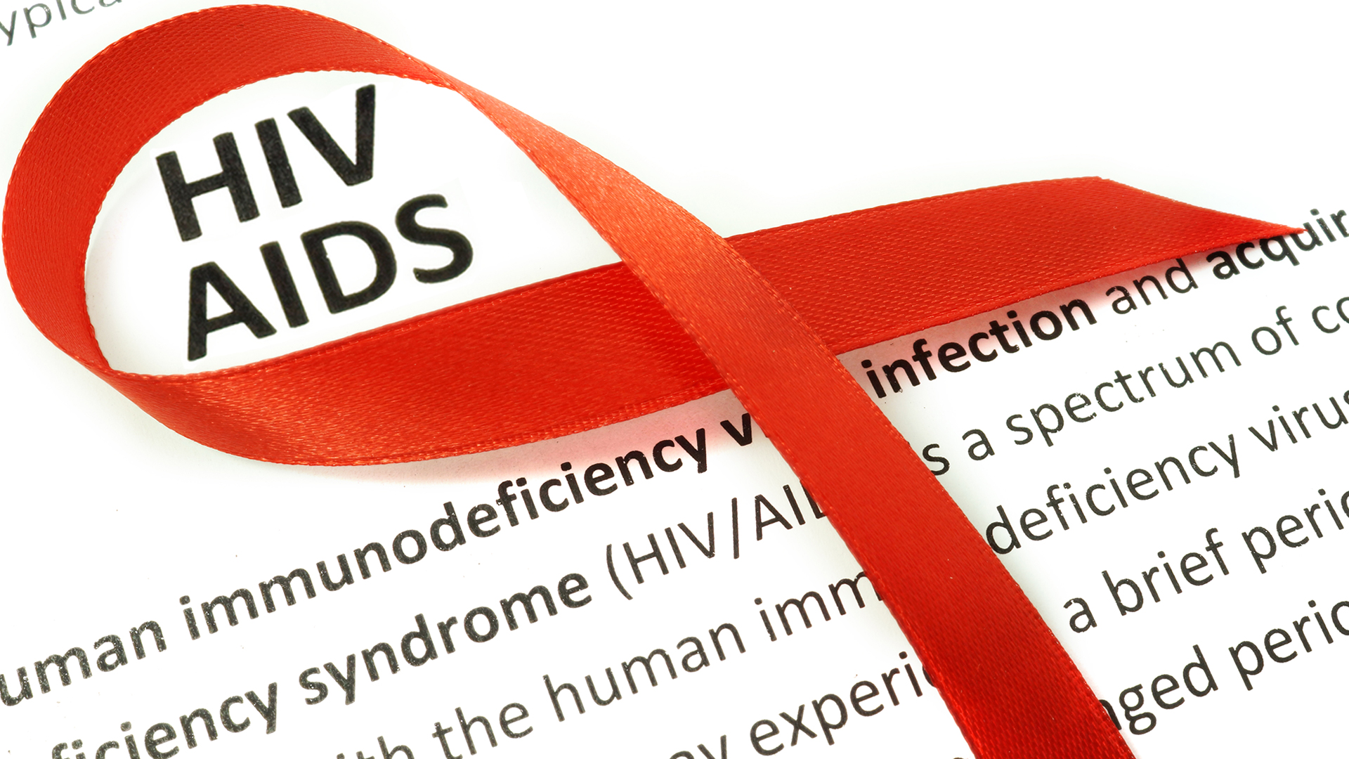 HIV Red Ribbon
