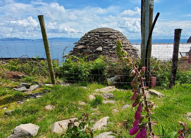 Beehive hut in Ireland
