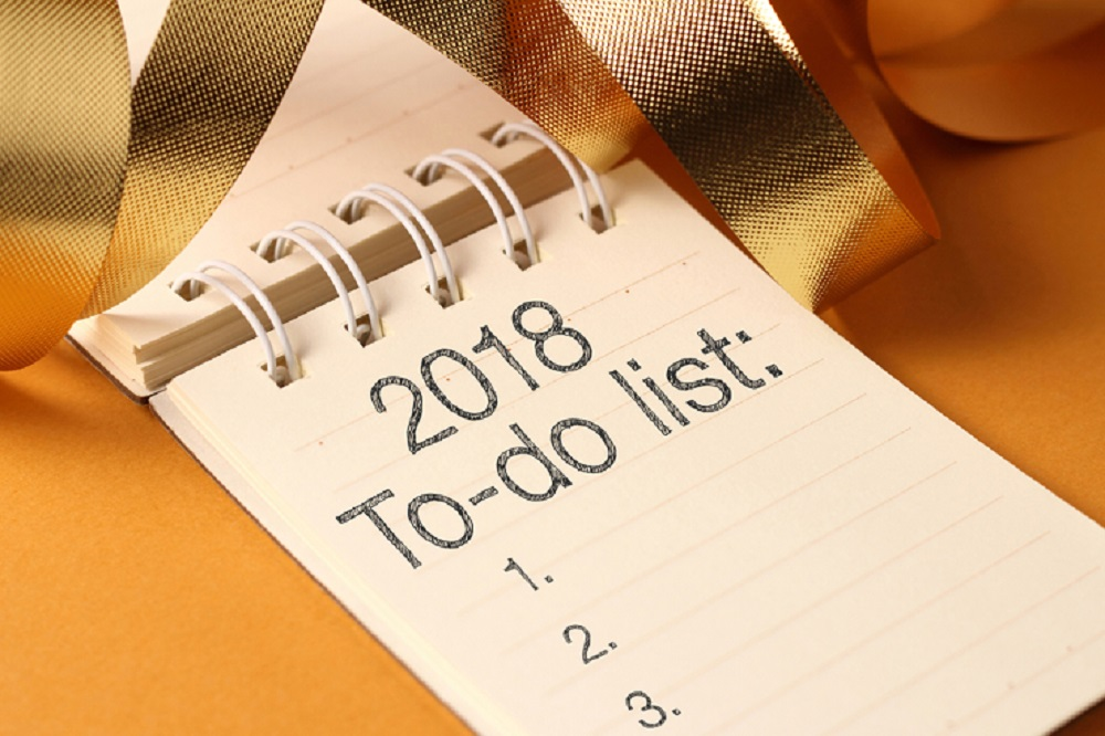 2018 To-Do List