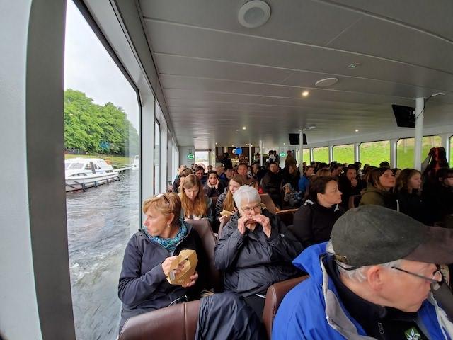 Boat on Loch Ness