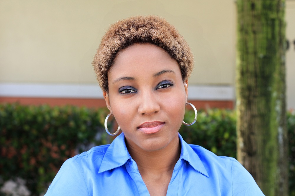 african-american-woman-looking-serious