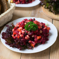 Beets, Beans + Greens