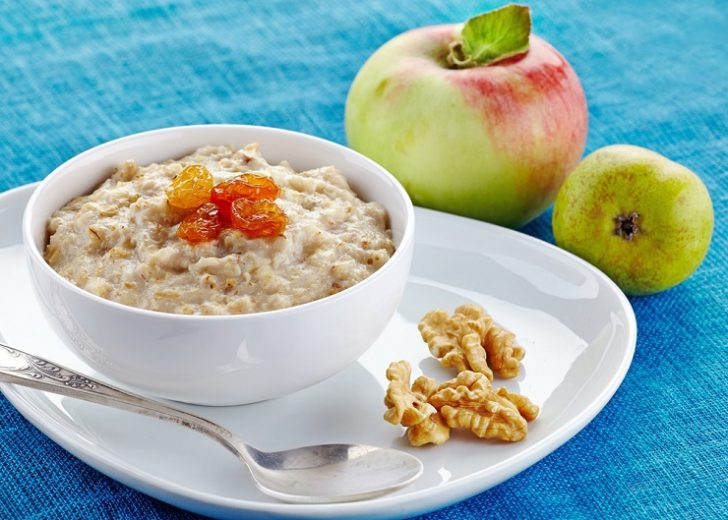 breakfast-with-oatmeal