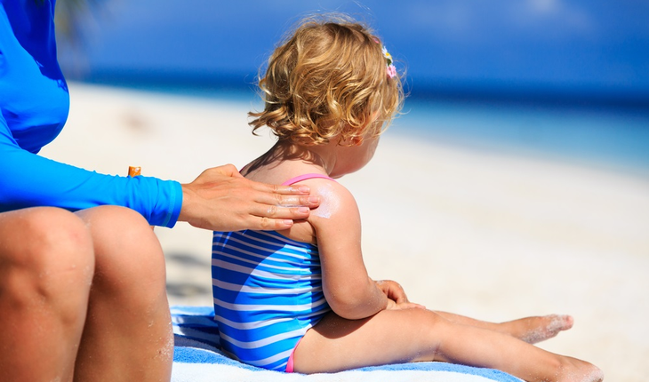 child-sunscreen