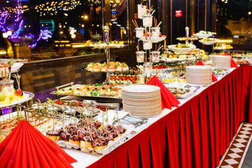 Christmas buffet