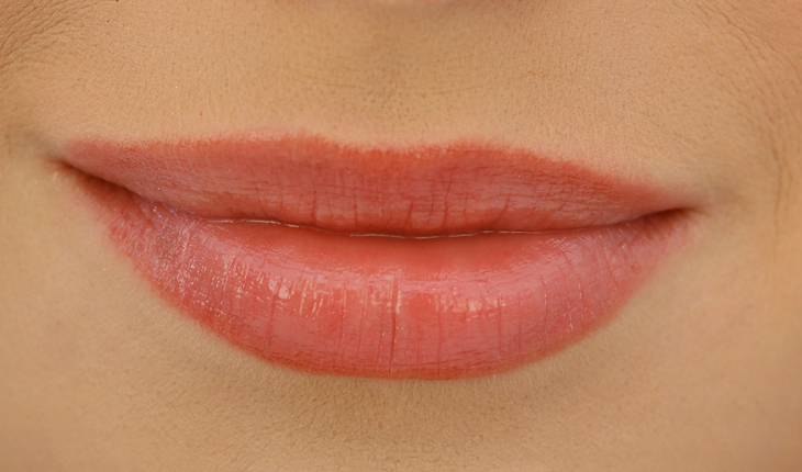 Closeup of lips