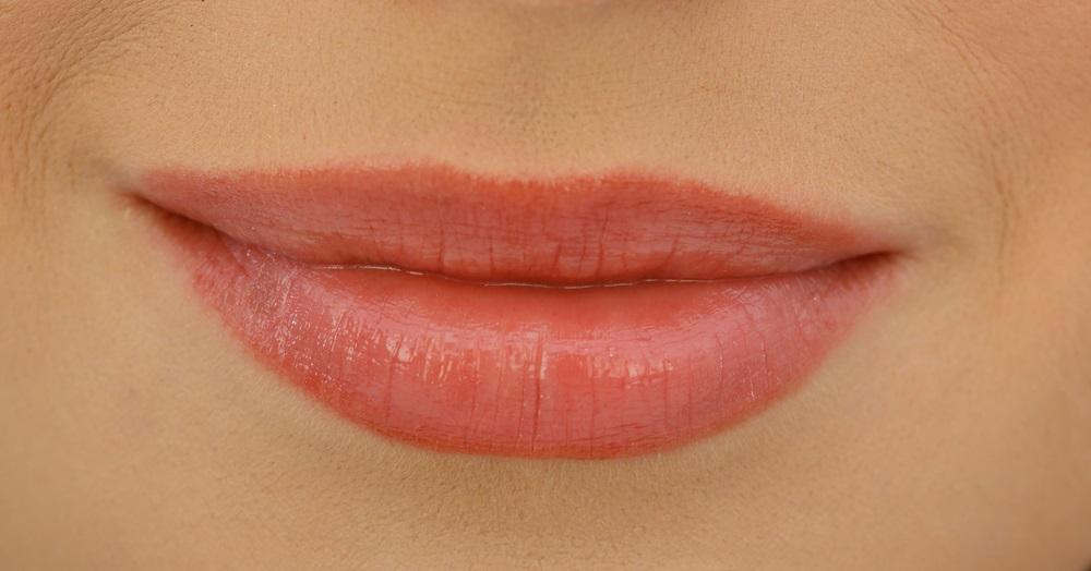 Closeup of lips