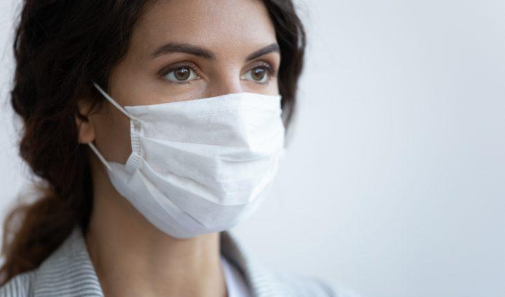 closeup-of-woman-wearing-mask