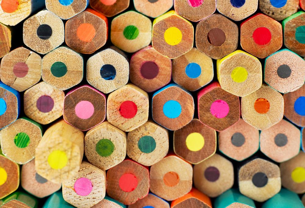 Multiple Color Pencils
