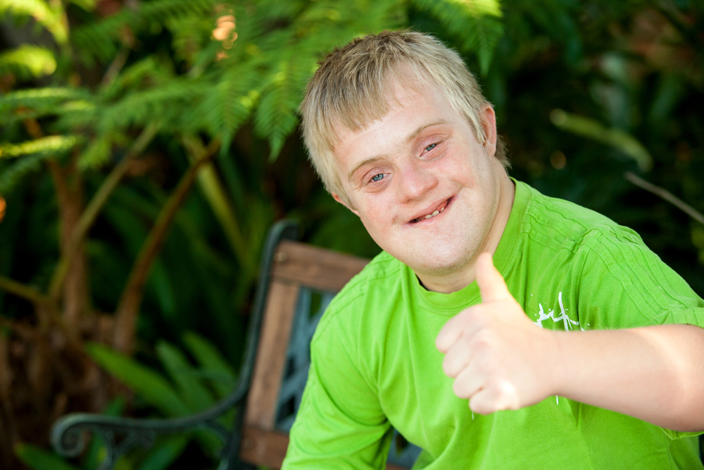 Downs syndrome teen