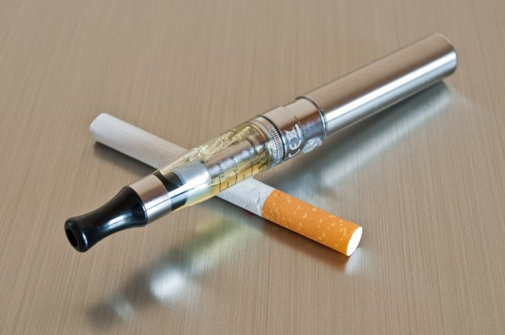 e-cig-and-traditional-cigarette