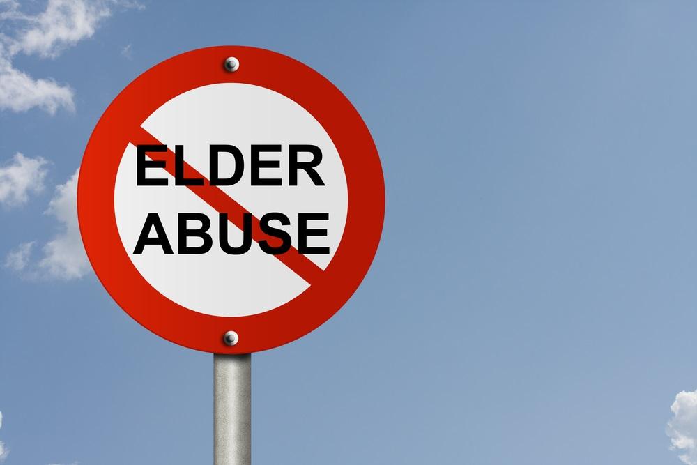Elder abuse sign