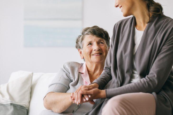 elderly-woman-with-caretaker
