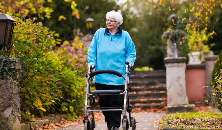 elderly-woman-walking-in-park