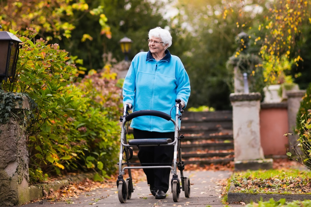 elderly-woman-walking-in-park