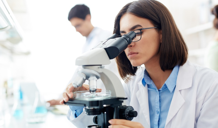 female-lab-researcher