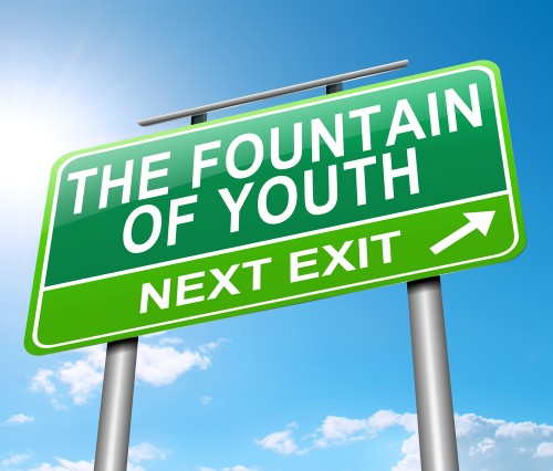 Fountan of Youth Sign