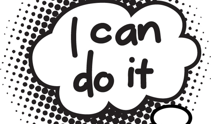 I can do it cartoon bubble
