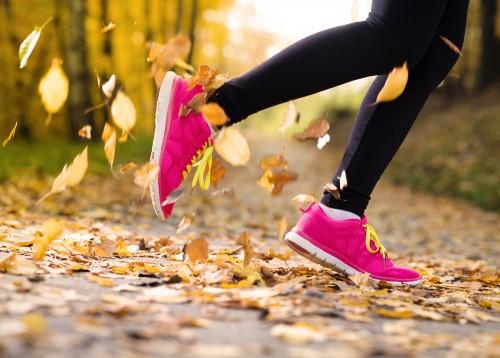 Jogging Autumn