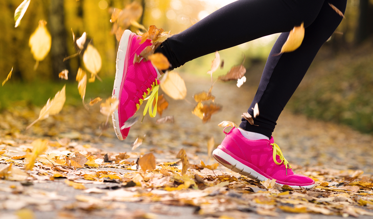 Jogging Autumn