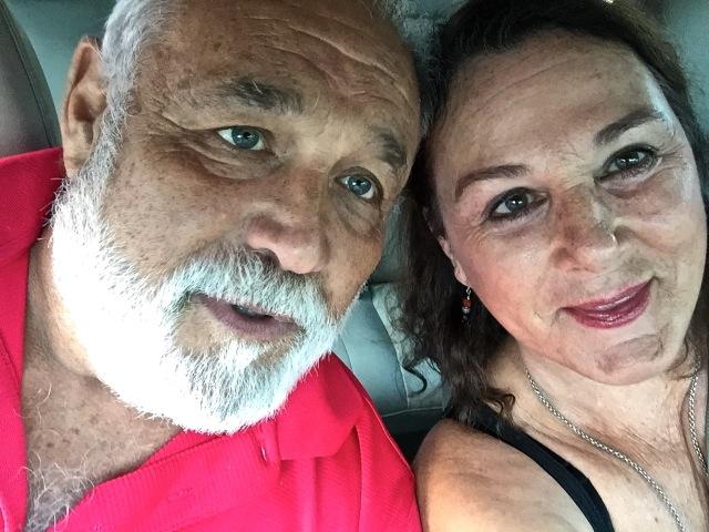 Judy Kirkwood and husband