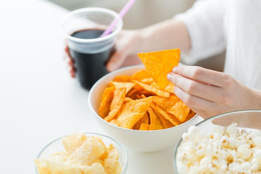 Junk food snacks