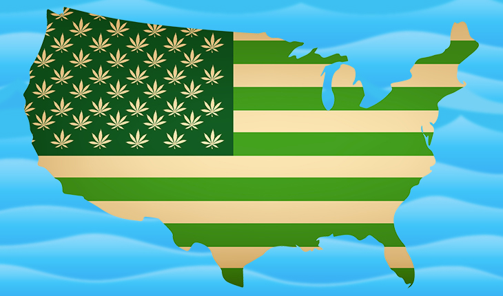 How many people in the USA have tried marijuana?