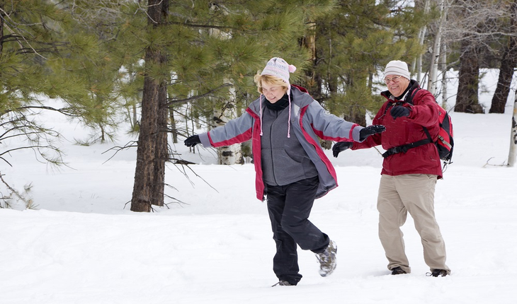 mature-couple-winter-exercise