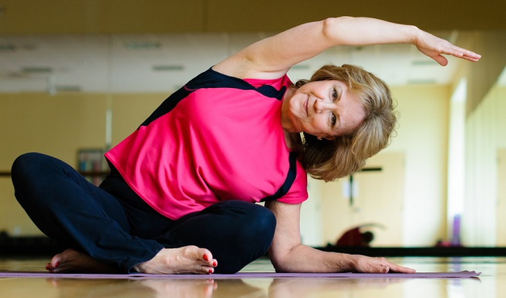 mature-woman-on-yoga-mat