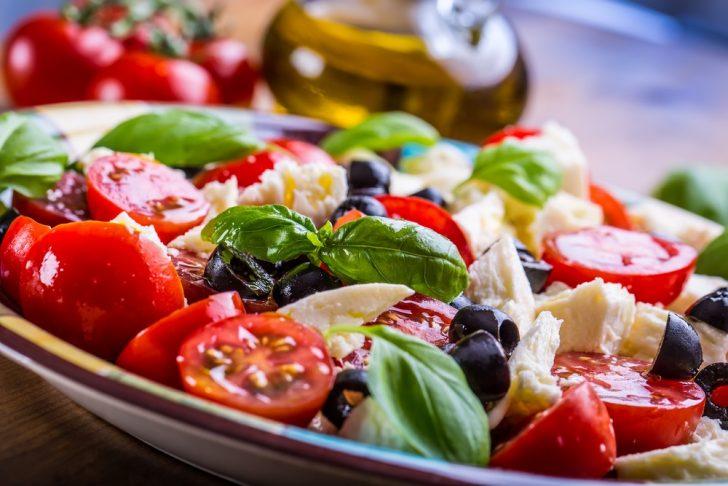 Mediterranean diet meal