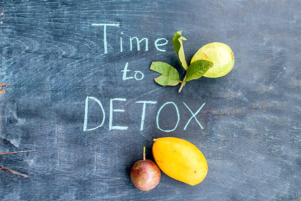 Time to Dextox Chalkboard
