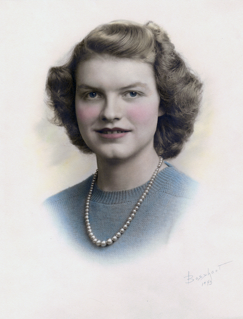 Dr. Marie's mother as a teen