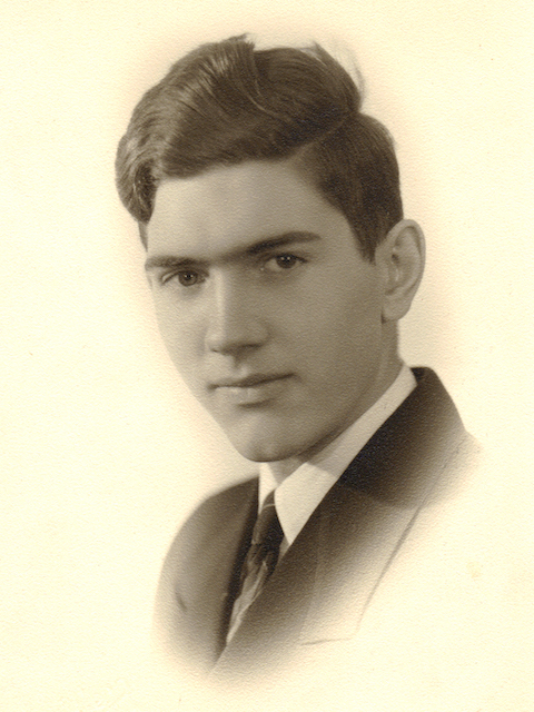 Dr. Marie's father as a teen