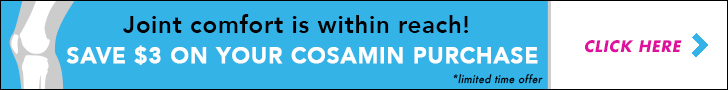Save $3 on you Cosamin purchase!