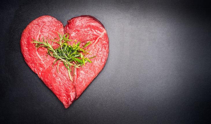red-meat-in-heart-shape