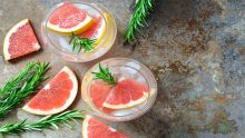 Rosemary+GrapefruitChampagneCocktail