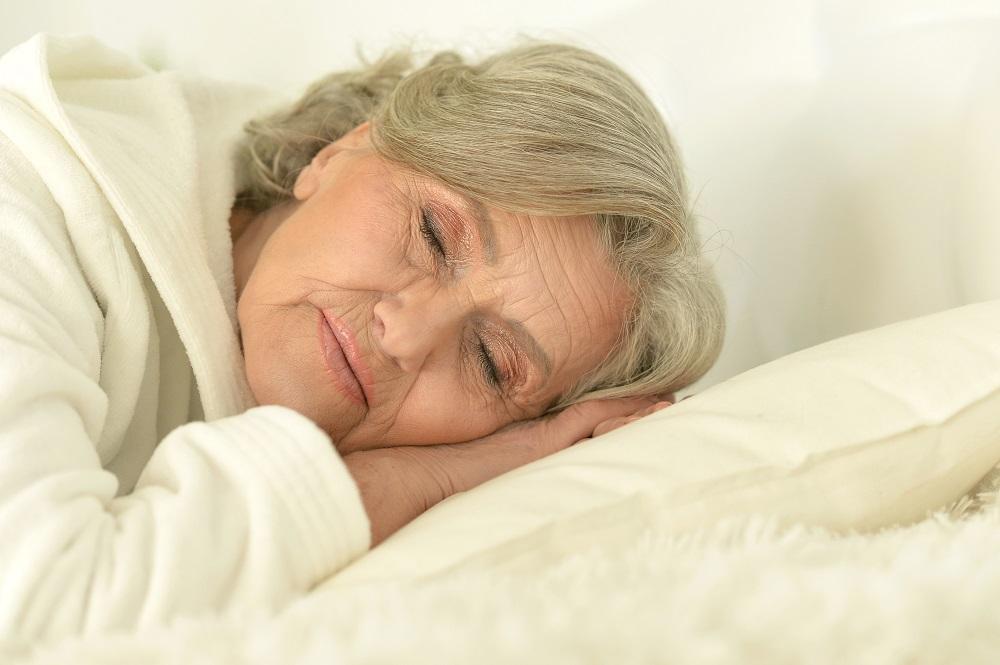 senior-woman-sleeping