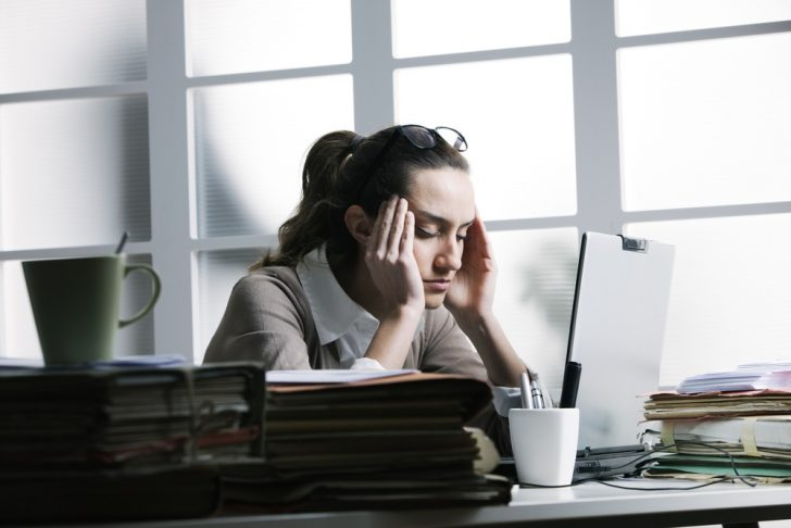 stressed-young-woman