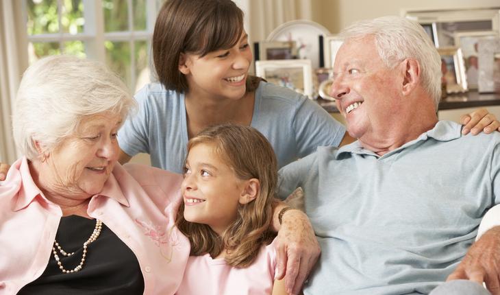 Talking to grandchildren
