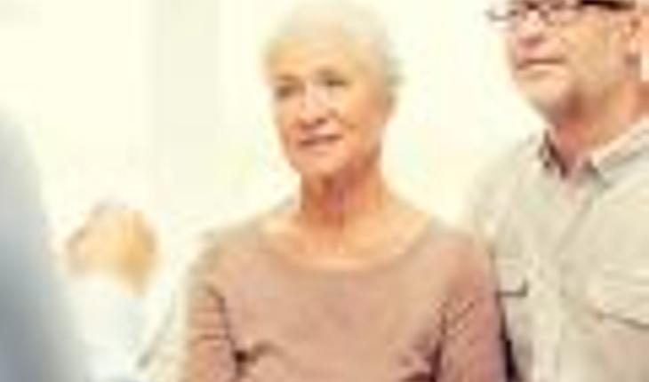 Talking wit elderly parents