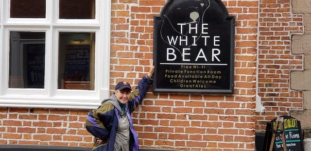 The White Bear restaurant