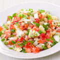 Tomato + Cannelini Bean Salad