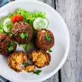 Delicious Vegan Falafel