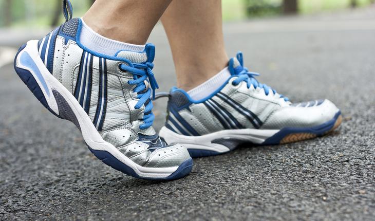 Walking shoes, sneakers