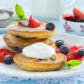 WholeGrainStrawberryPancakes