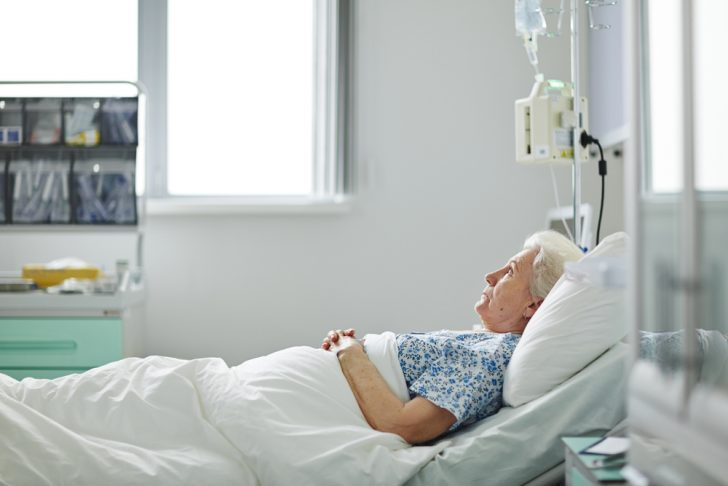 woman-in-hospital-bed