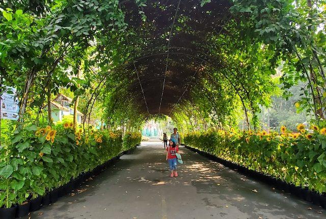 Saigon Zoo arch