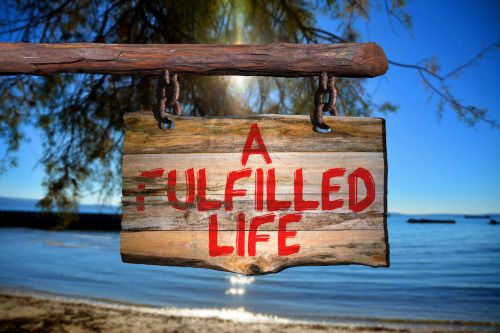 a fulfilled life sign