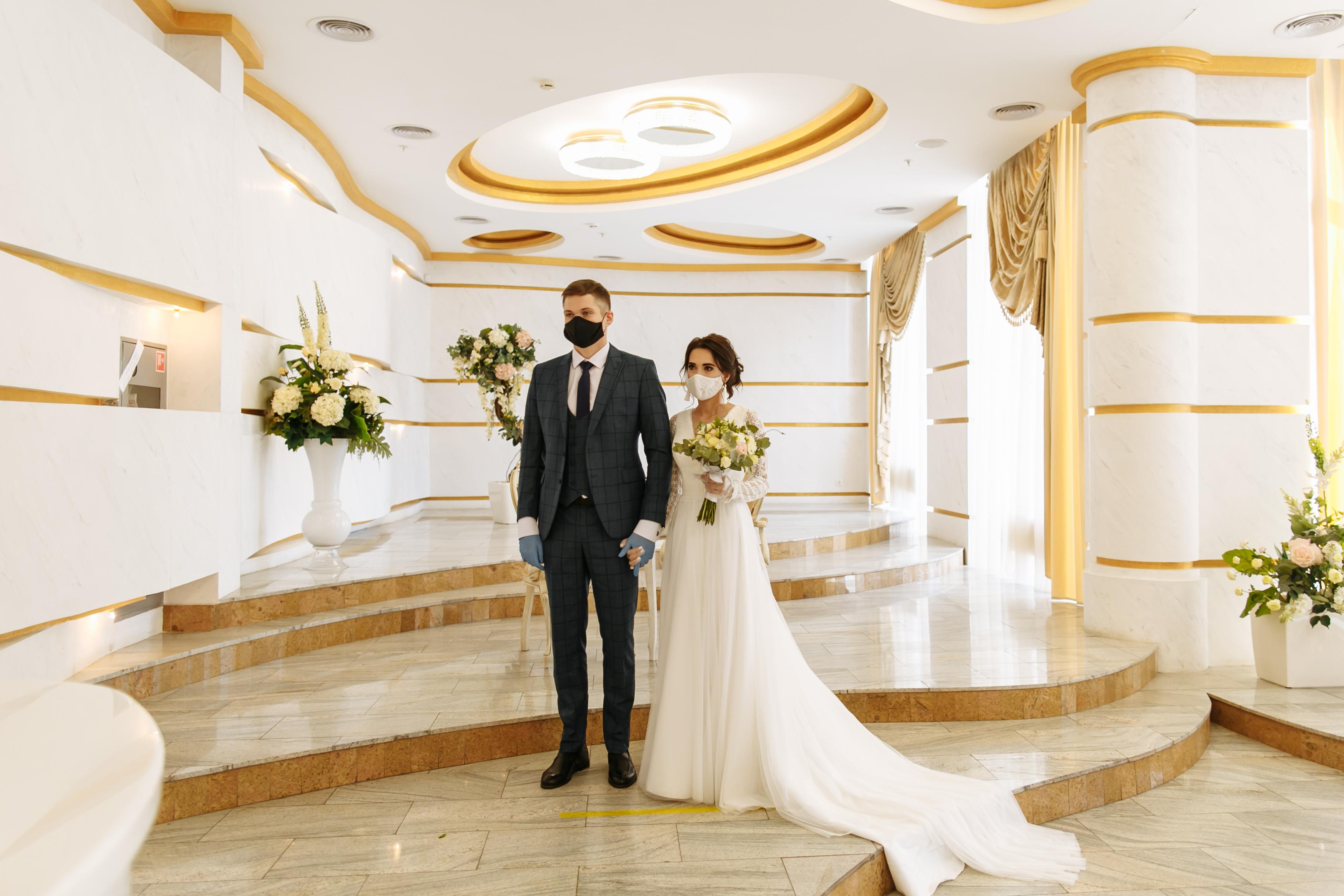 a wedding in 2020