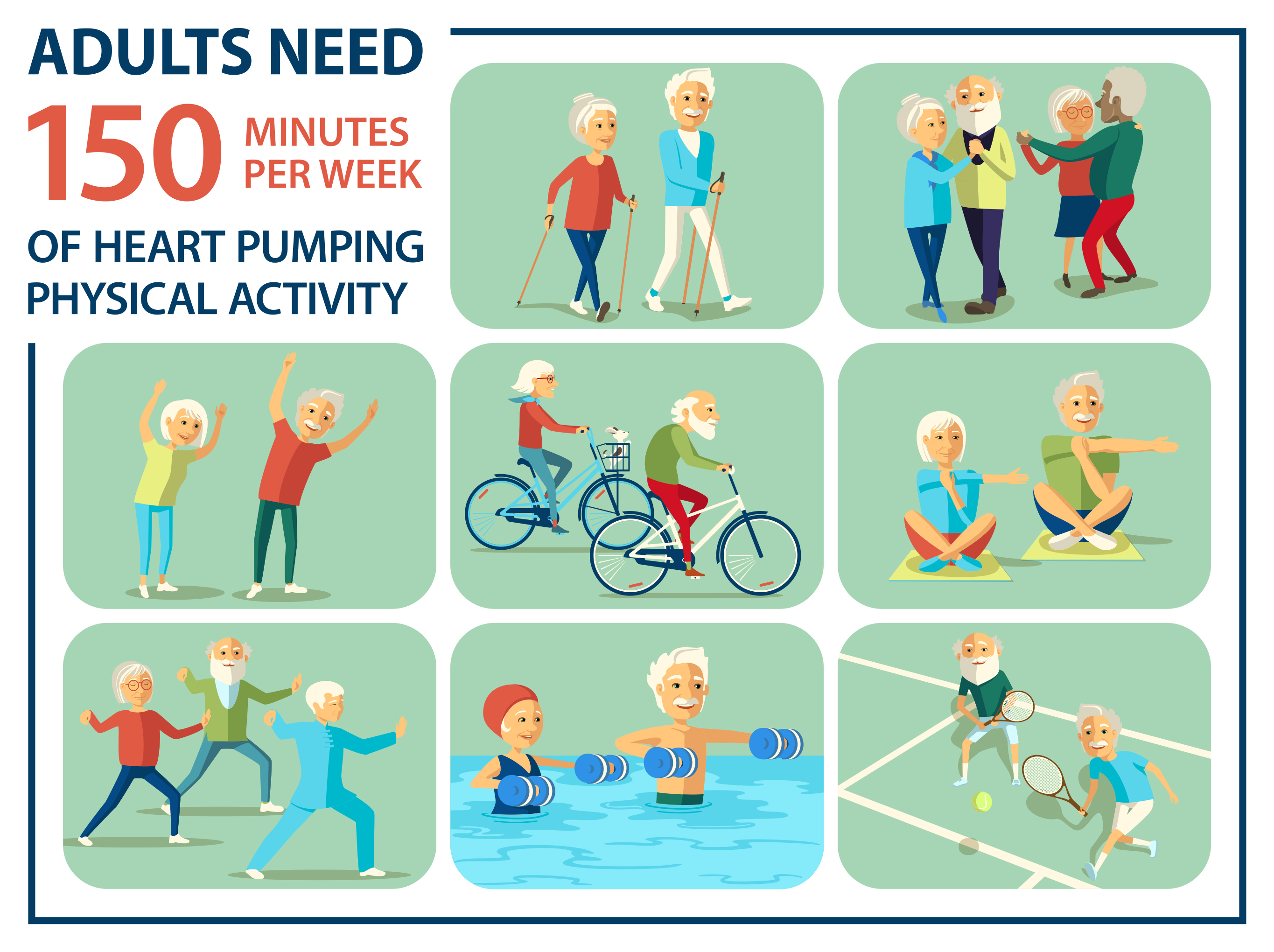 adults exercise